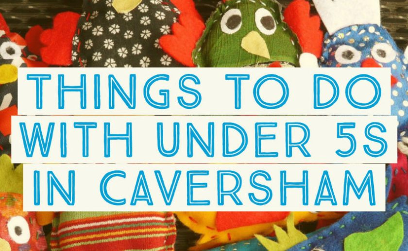 things to do with baby and toddler in Caversham