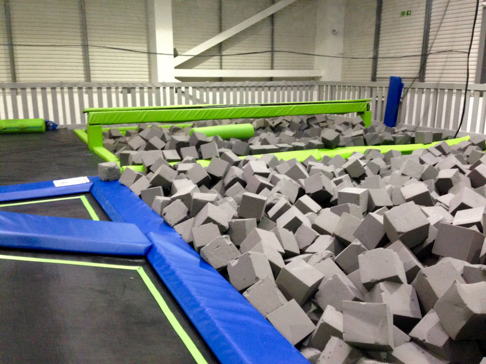 Jump In Trampoline Park Slough Red Kite Days
