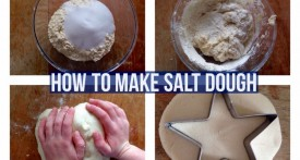 salt dough, how to make salt dough, salt dough recipe, salt dough tutorial, salt dough instructions