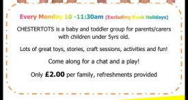 chestertots, bicester, toddler goups, mondays