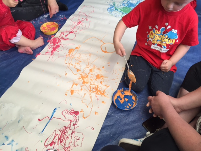 creation station, thame, gloop, preschool, class