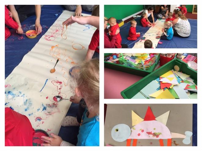 creation station, thame, art, preschool, class