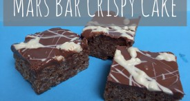 mars bar, crispy cake, fridge cake, bake sale