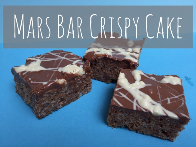 How To Make Rice Crispy Cakes With Mars Bar