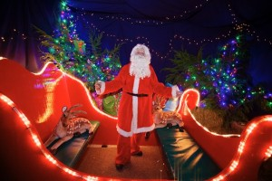 meet santa swindon, father christmas swindon
