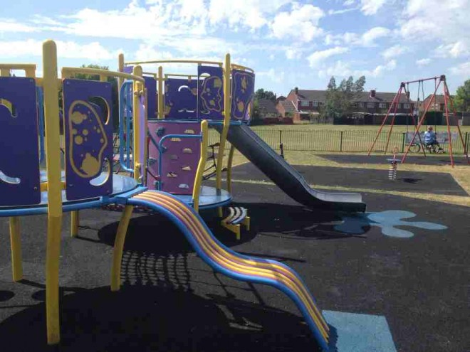 playpark, kidlington, benmead road, parkhill