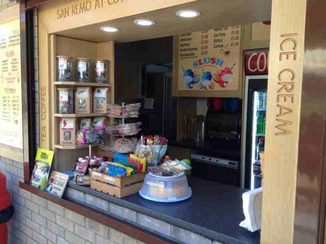 cafe remo, cuttleslowe park, refreshments, kids