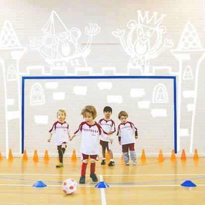 little kickers, football class, kids, oxfordshire