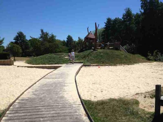 sandpit, cuttleslowe, park, kids, days out, oxford