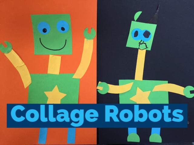 Collage Robots Red Kite Days