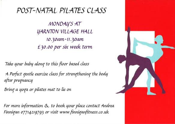 postnatal pilates yarnton, postnatal classes near kidlington, postnatal pilates north oxford, pilates north oxford