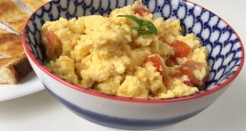 scrambled eggs, speedy lunch, easy kids food
