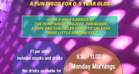 kids disco, faringdon, toddler group, cheap activity for kids