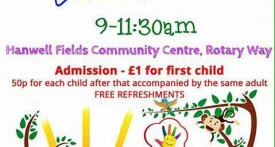 hanwell fields community centre, toddler group, fridays, banbury