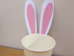easter bunny, easter craft, kids easter craft, cheap easter craft, easter basket