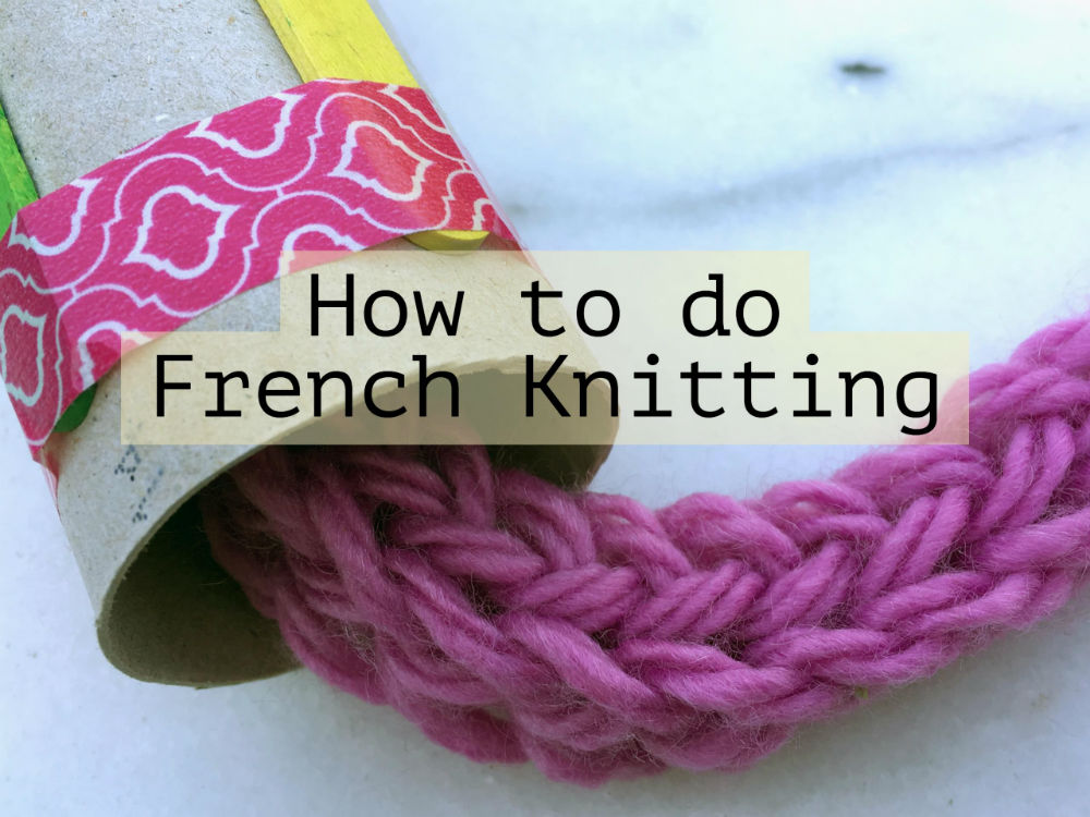 French Knitting Craft Ideas