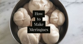 how to make meringues recipe