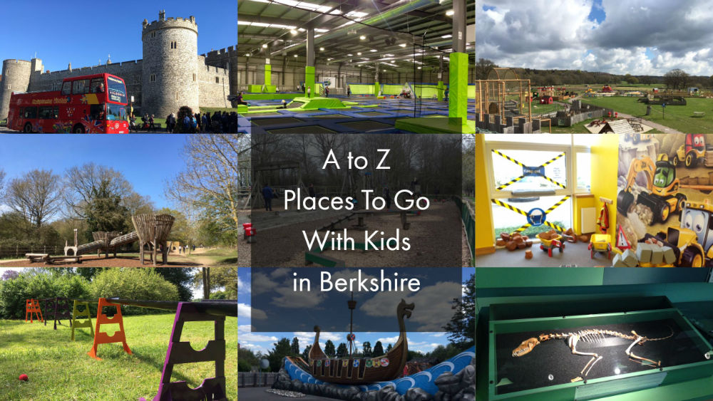A to z of things to do with kids in berkshire red kite days for Places to move to