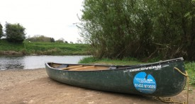 canoe river wye, family canoe trip river wye, canoe with kids river wye, canoe hire river wye