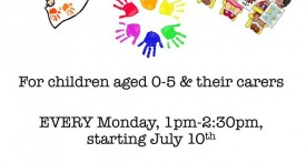 Kidlington community hub Monday sessions