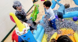 messy faces, west oxford, messy faces west oxford community centre, messy play for under 5s
