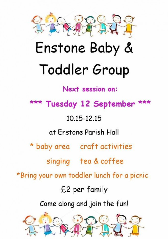 baby and toddler group enstone, baby groups enstone, toddler group enstone