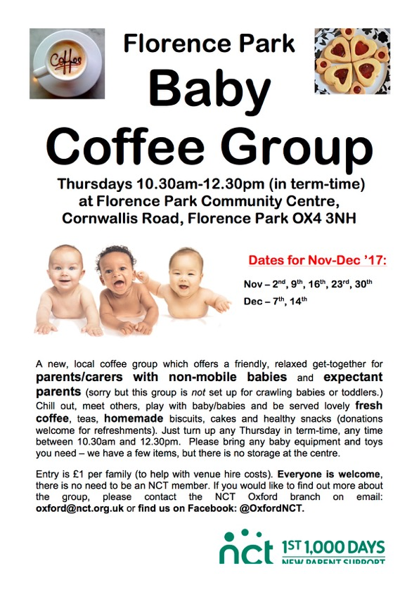 florence park baby group, florence park, things to do with baby florence park, oxfordshire