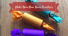 homemade christmas cracker, make your own christmas crackers, christmas cracker tutorial, DIY xmas crackers, toilet roll tube christmas crackers, kids crafts for christmas