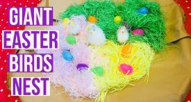 easter kids craft, easter birds nest, easter sensory activities