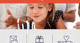 wedding fund website, birthday fund website, group giving fund, birthday group fund, birthday present, online party invites
