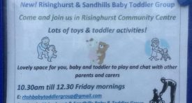 risinghurst toddler group, sandhills toddler group, toddler groups heading, friday toddler group oxford