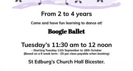 toddler ballet class bicester