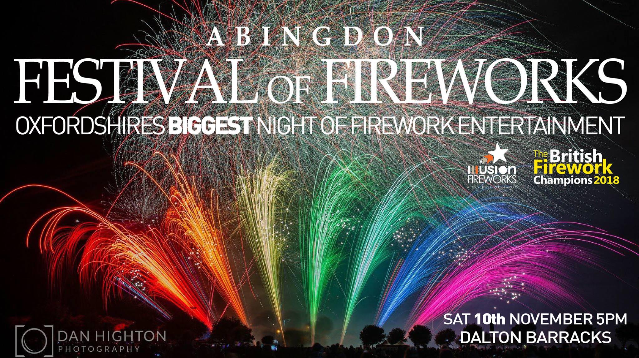 Abingdon fireworks 2018