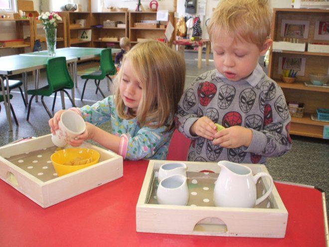 kidlington nursery, kidlington preschools, Montessori nursery oxfordshire